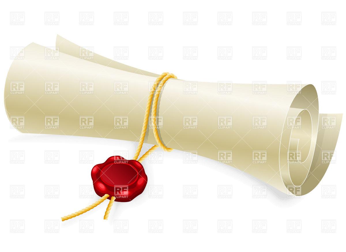 Letter clipart scroll 16 Scroll Clip Art Graduation
