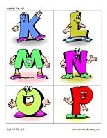 Lettering clipart alphabetical order Fun Art Clip Clip Have