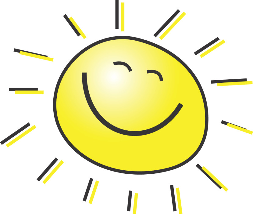 Summer clipart happy person #1