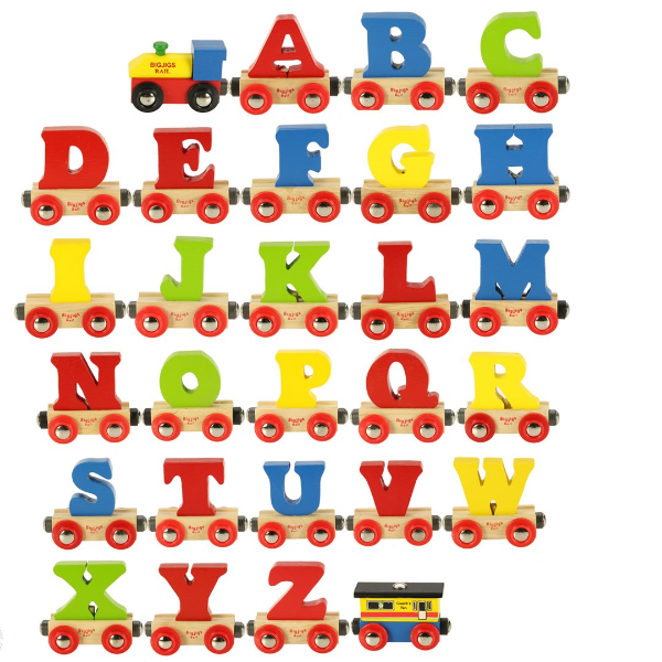 Letter clipart train Bigjigs Name  Letter Name