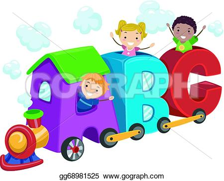 Letter clipart train Gg68981525 Art train of gg68981525