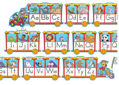 Letter clipart train Encourage of vocabulary Circus Train