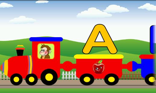 Letter clipart train On Alphabet Play screenshot –
