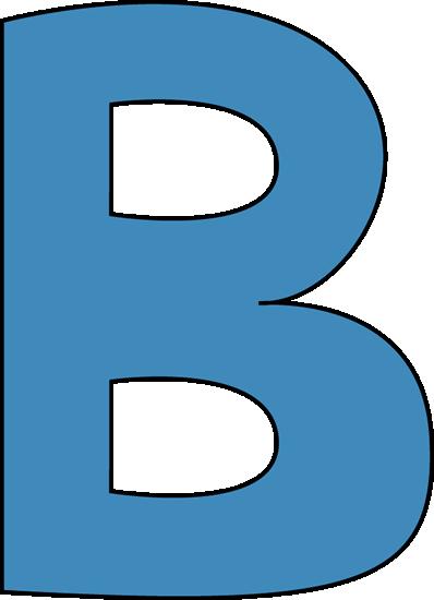 Letter clipart transparent Letter b clip Clipart collections