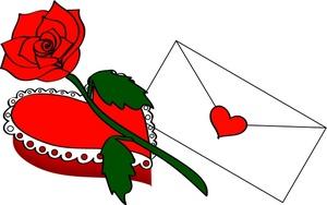Rose clipart valentine rose #10