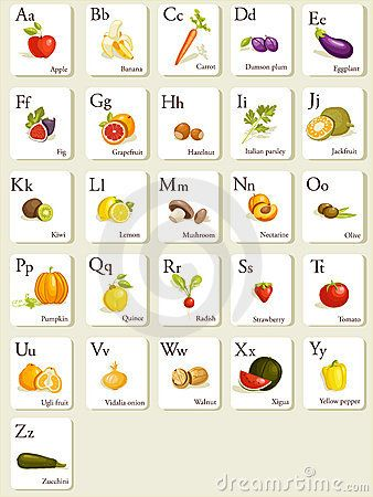Fruits & Vegetables clipart alphabet 33 and alphabet about best