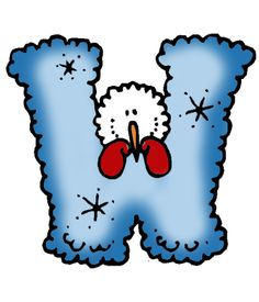 Letter clipart winter Letters T Letters I Numbers