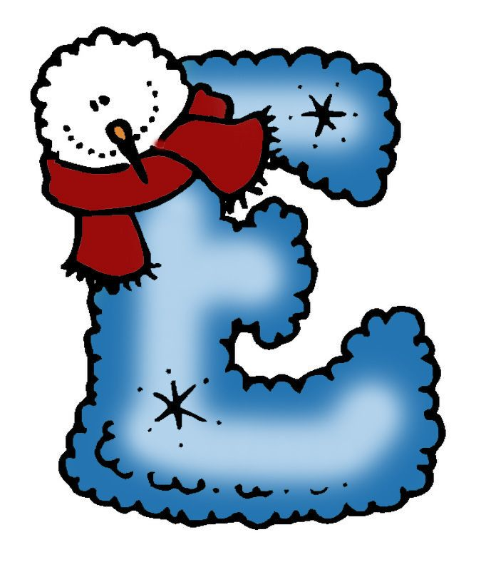 Letter clipart winter D about Letters images on