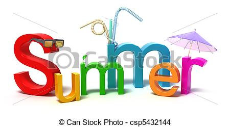 Letter clipart word art With concept Drawing Illustration letters