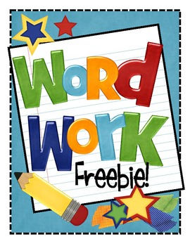 Creative clipart the word {Creative and  Work Word
