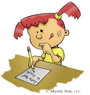 Letter clipart write letter Clipart · A clipart Writing