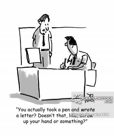 Old Letter clipart written communication From CartoonStock 9 pictures Comics