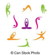 Letter clipart yoga EPS 878 of yoga 43