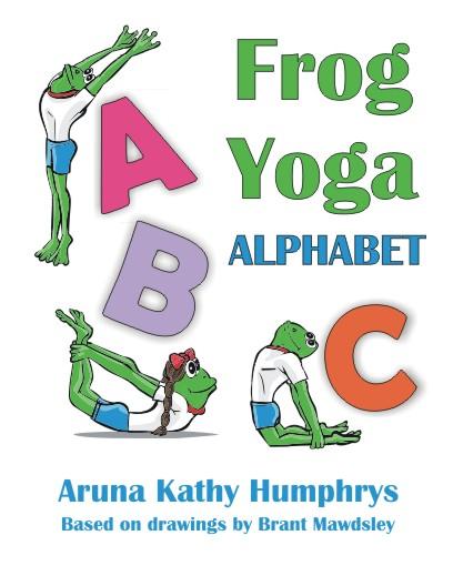Letter clipart yoga Frog Yoga Alphabet Aplphabet Kids
