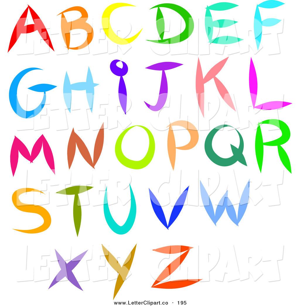 Lettering clipart Letters Clipart Alphabet clipart clipart