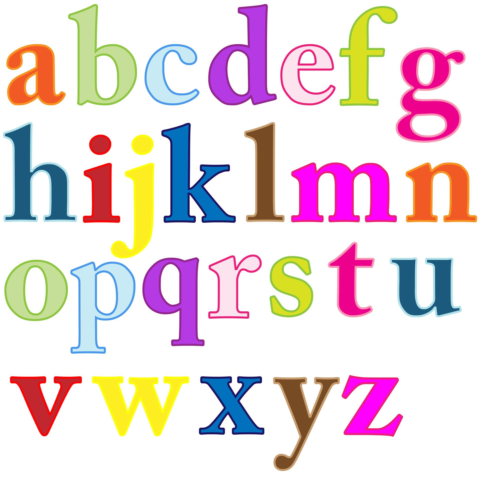 Lettering clipart Letters art Alphabet clipart Clip