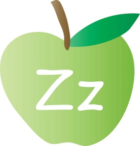 Lettering clipart a to z Letter Apple the Alphabet Apple