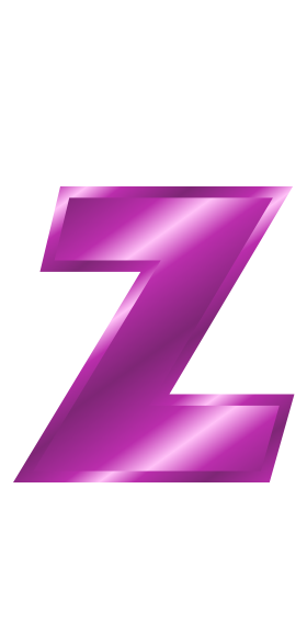 Lettering clipart a to z Purple Z Alphabet Download 13