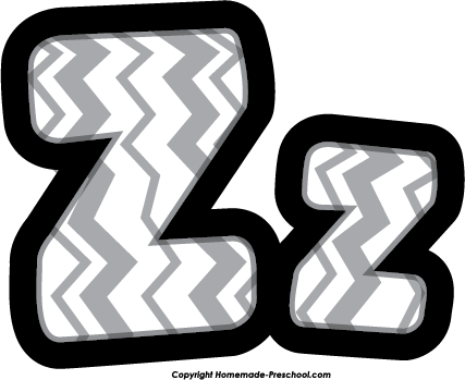 Lettering clipart a to z Z letter collections The z