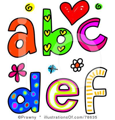 Lettering clipart abc Alphabet clipart  Clipart Collection