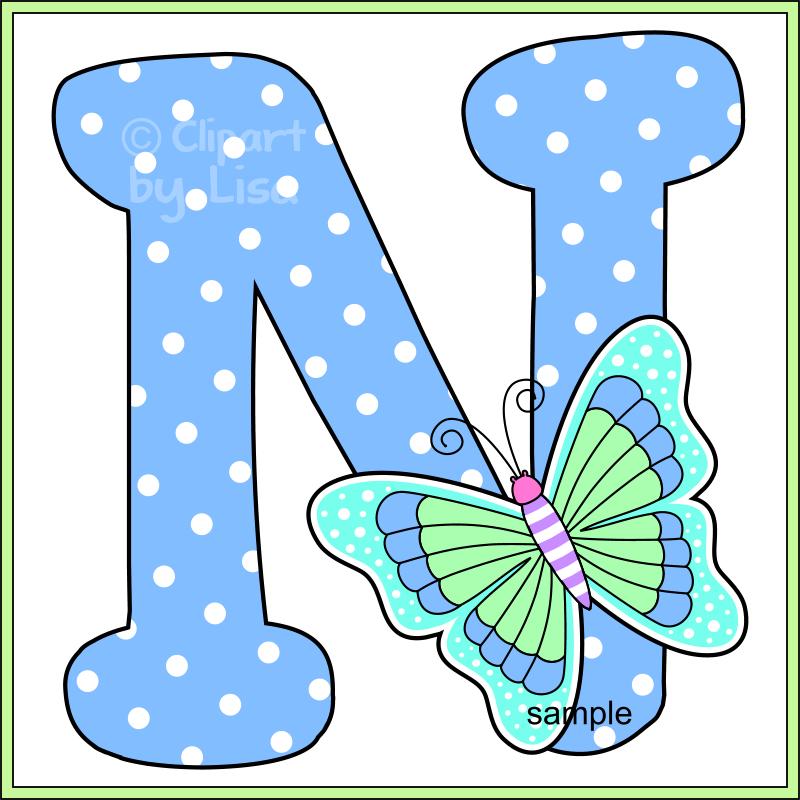 Lettering clipart bug Letters alphabet  clipart