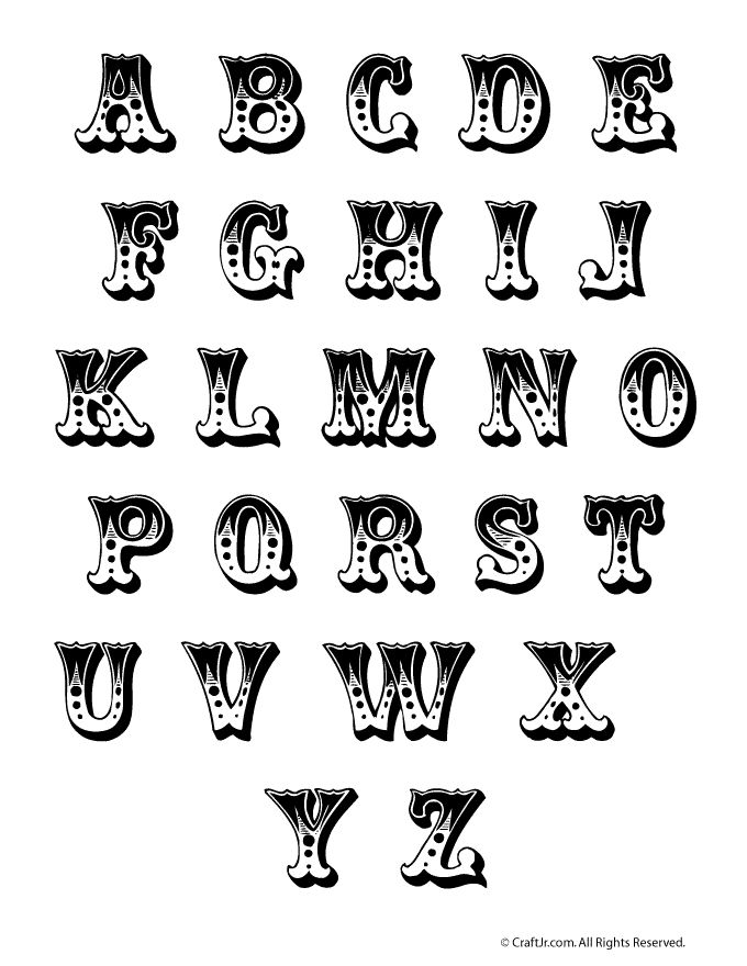Lettering clipart bug Letter as use to lettering