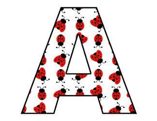 Lettering clipart bug Cliparts Ladybug Nature Digital Clip