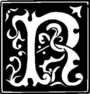 Lettering clipart decorative letter m Alphabet  Clipart Letters Decorative