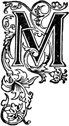 Lettering clipart decorative letter m How m celtic  Search