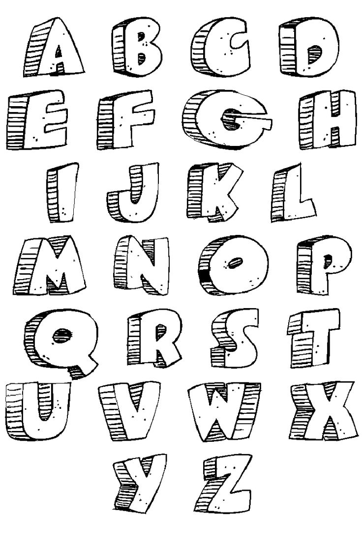 Lettering clipart easy On Caveman for : Graffiti