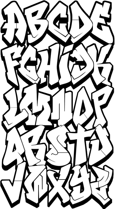 Lettering clipart easy To on Cool ClipArt