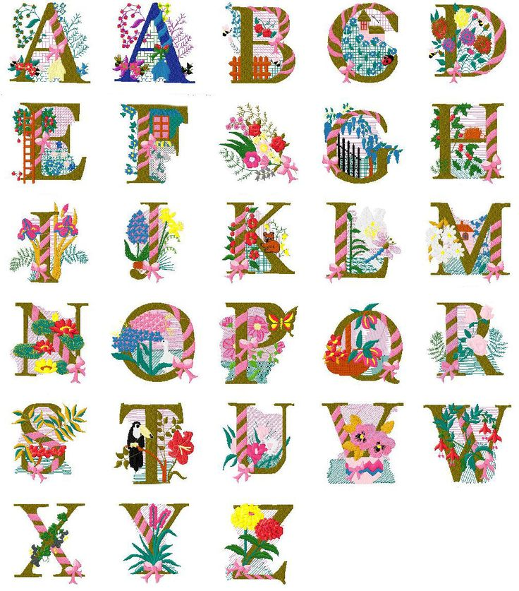 Lettering clipart embroidery Tekstversieringen images embroidery machine 2