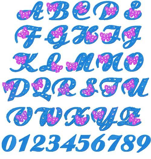 Lettering clipart embroidery On best Design Embroidery &
