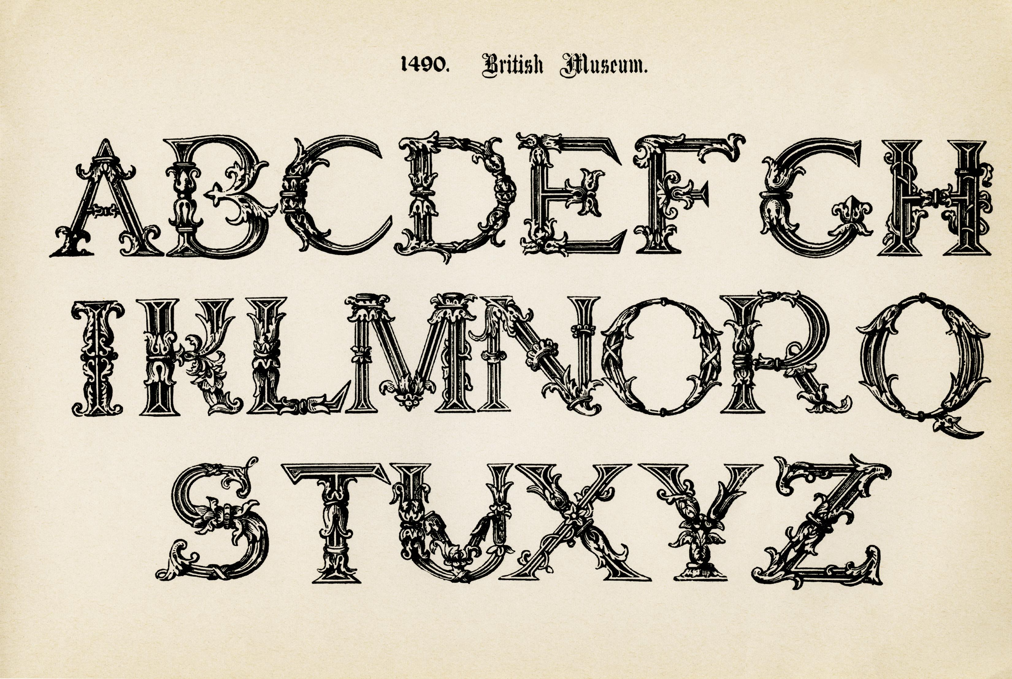 Calligraphy clipart font Free free the alphabet alphabet