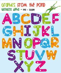 Lettering clipart font Use Wowza Cute Train Personal