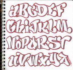 Lettering clipart graffiti Me Z Alphabet letters Bubble