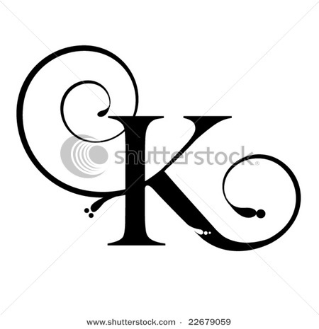 Lettering clipart letter k On Letter Find this Pinterest