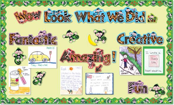 Lettering clipart magazine cutout  enterprises Teacher Learning Inc