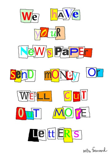 Lettering clipart ransom Notes about Pinterest on 53