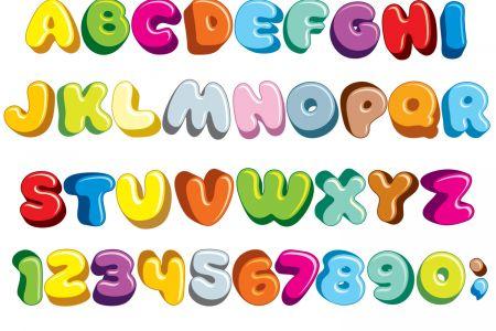 Lettering clipart ransom Letters Clip alphabet Christmas Letters