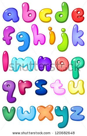 Lettering clipart small Case the letters letter best