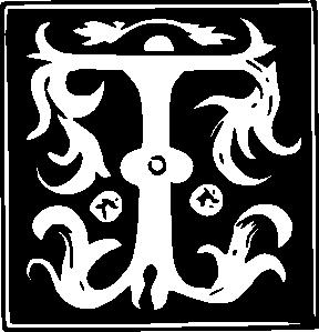 Lettering clipart transparent Decorative  Alphabet Clipart