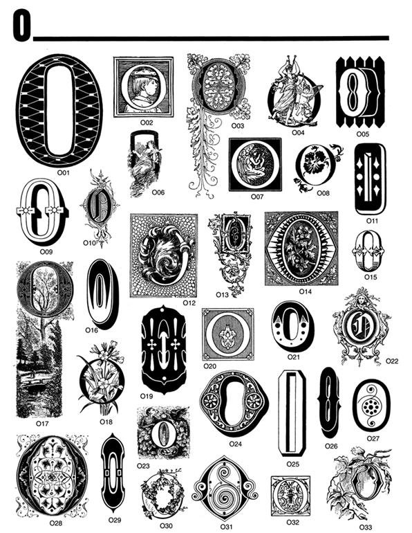 Lettering clipart victorian From:  Decorative ROM Book