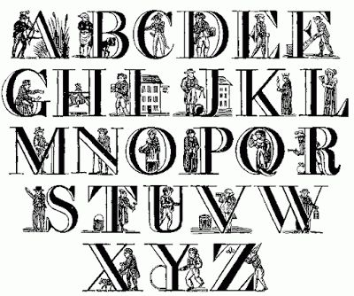 Lettering clipart victorian Fancy tartanscot images So Victorian