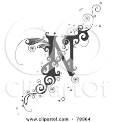Lettering clipart vine BNP by Style the of