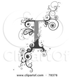 Lettering clipart vine BNP by  letters of