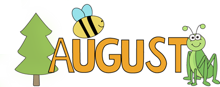 Gallery clipart august flower  Clipart And Lettering August
