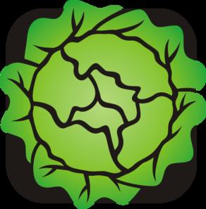 Lettuce clipart vector Art Clip com Lettuce online