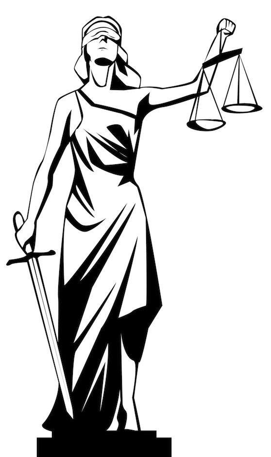 Libra clipart criminal justice Lady Visual The Tokens' Jurisprudence