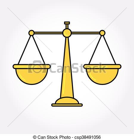 Libra clipart justice symbol Icon of Balance Libra symbol